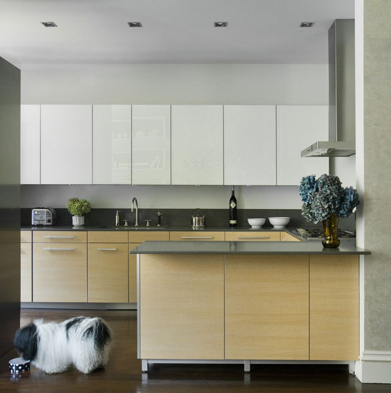 Modern White Kitchen Cabinet Doors