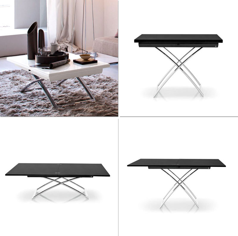 Coffee tables that convert